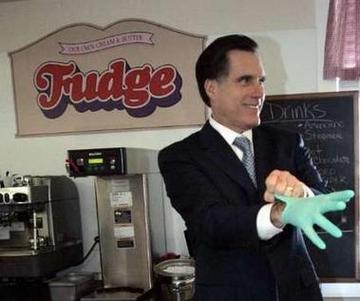 Mitt Romney Fudging