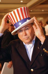 Crazy Dana Rohrabacher - Photo Credit: Jack Gould / OC Weekly
