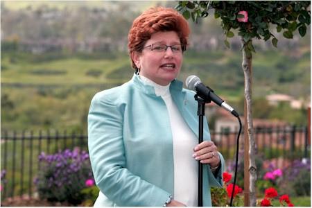 Irvine Councilwoman Beth Krom