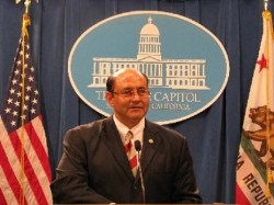 Sen. Lou Correa at Capitol Press Conference (File Photo)