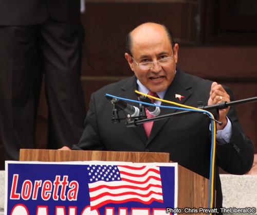 Senator Lou Correa (Photo: Chris Prevatt)