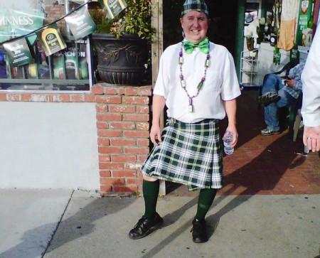 Leprechaun Mayor Gary Monahan