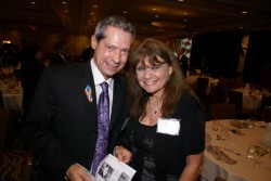 Jeff LeTourneau and Denise Penn at a recent DPOC Harry S Truman Award Dinner