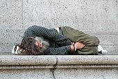 Homeless-sleeping