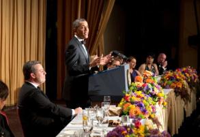 Obama 2013 White House Correspondents Dinner
